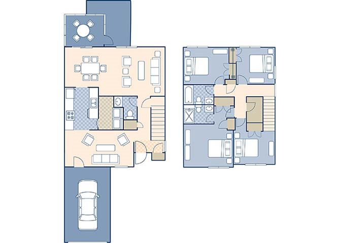 Ribault Bay 1355 Floor Plan 15